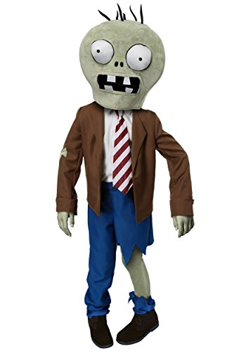 Kids PLANTS VS ZOMBIES Zombie Costume Medium -