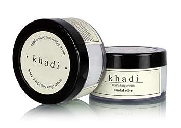 Khadi Sandal & Olive Nourishing Cream - 50 ml by Khadi Natural 7Up7BP