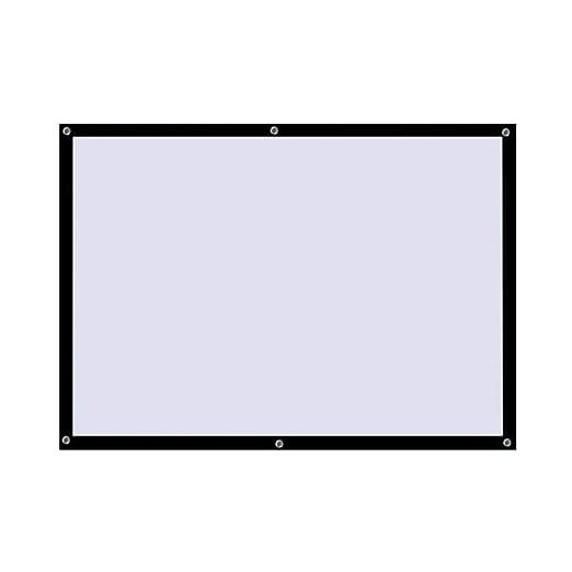 Canness-Home Proyector de Pantalla Plegable portátil Pantalla de ...