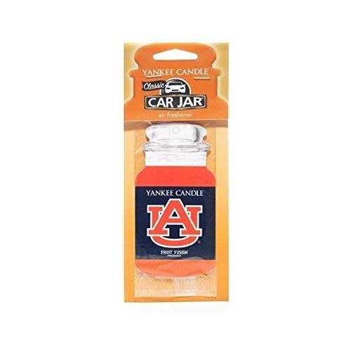 Auburn University (Fruit Fusion) Collegiate Car Jar Air Freshener - Yankee Candle (Collegiate Air)