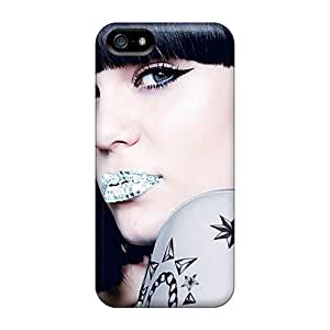 High Impact Dirt/shock Proof Case Cover For Iphone 5/5s (jessie J Diamond Lipstick)