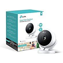 Kasa Cam Outdoor by TP-Link - 1080p HD, Built-in Siren, Stream Anywhere, Works with Alexa Echo and Google Assistant (KC200) (Renewed)