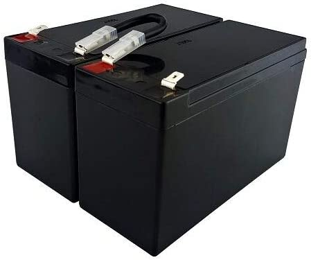 UPS Computer Power Backup System Replacement Battery Kit w//Wire Harness RBC5