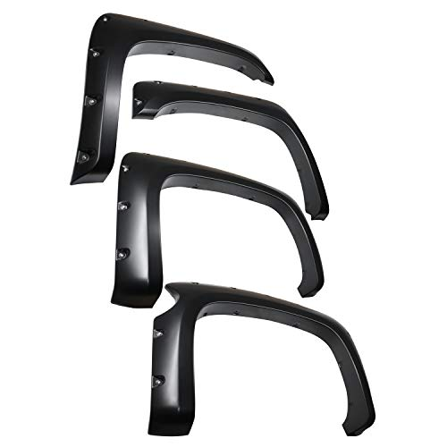 Chevy Truck Fender Flares - Tyger Auto TG-FF8C4108 for 2007-2013 Chevy Silverado 1500 (ONLY Fit 69.3