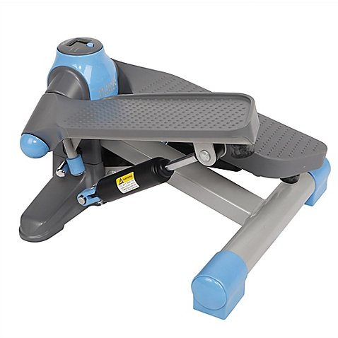 Mini Twister Elliptical Stepper in Blue
