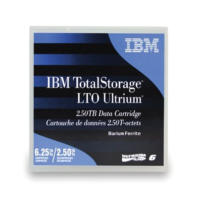 IBM (00V7590) LTO Ultrium 6 Data Cartridge by IBM