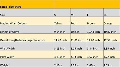 Tough Work and Gardening Gloves for Men and Women(12 pairs per pack) (Latex, Medium) Supreme Hi-vis orange with full thumb dipping by Evara by Evara (Image #6)