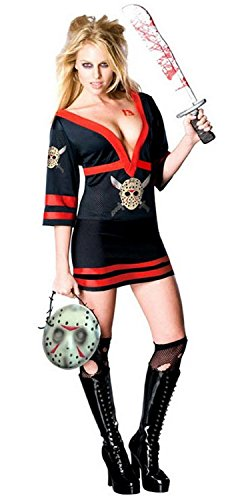 Miss Voorhees Costume - Adult Costume - -