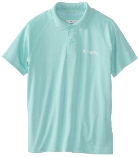 Columbia Sportswear Boy's Terminal Tackle Polo Shirt (Youth), Gulf Stream, X-Large ()