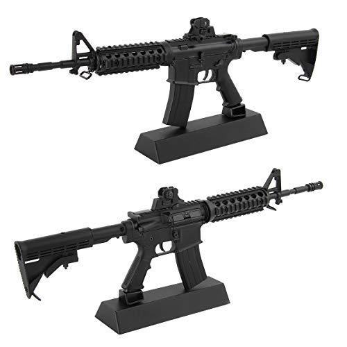CEKToys 1:6 Metal Models Mini Replicas Kit Sniper Toys Automatic Rifle Gun Model Arts Collection Gun Safe Games Case