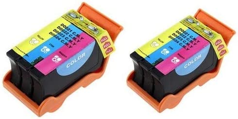 SuppliesMAX Compatible Replacement for Dell P513//V313//V313W Color High Yield Inkjet Series 22 T096N/_2PK 2//PK