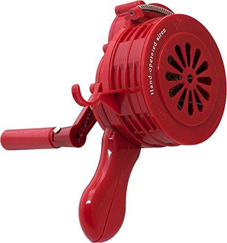 Vixen Horns Loud 110dB Hand Crank Manual Operated Portable Plastic Alarm/Siren (Air Raid) VXS-1000P
