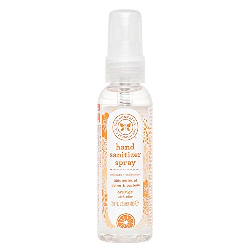 The Honest Company Hand Sanitizer Spray - All Natural, Orange - 2 oz