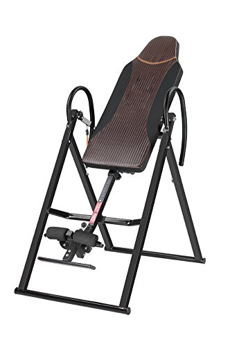 QAZSE Inversion Table - Back Stretcher Machine For Pain Relief Therapy Comfortable Foam Backrest, Reduce Back Pain, Adjustable Folding by QAZSE