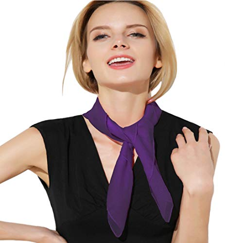 Disgust Scarf Purple Scarf for Women and Girls Disgust Costume