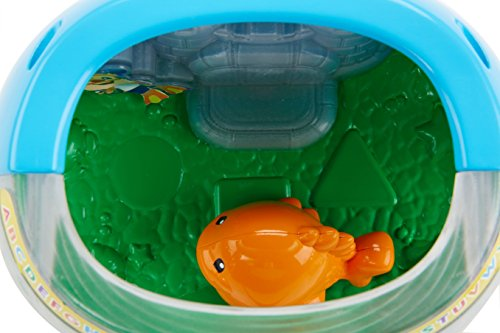 41YLQPybdML - Fisher-Price Laugh & Learn Magical Lights Fishbowl