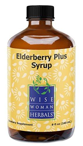 Wise Woman Herbals - Elderberry Plus Syrup - 8 oz by Wise Woman Herbals