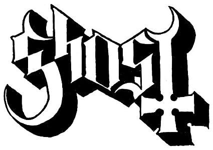 Amazon Ghost Rock Band Logo Stickers Rock Band Symbol 6