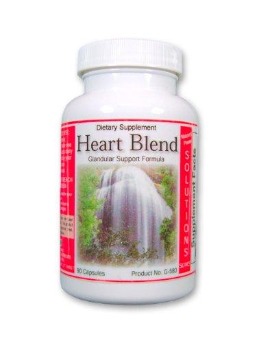 Supplément coeur, coeur Blend, Natural Supplément cardiovasculaires, aux sels cellulaires homéopathiques 90ct