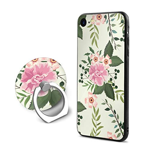 Wild Metal Rose Pedestal (Wildflowers and Roses Case and Mobile Phone Stand Iphone8,iphone7 Case,Iphone8 case,Shock-Absorption & Skid-Proof Anti-Scratch Case for Apple Iphone7/8)