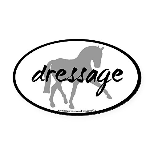 CafePress - dressage sidepass grey with text.png Oval Car Magn - Oval Car Magnet, Euro Oval Magnetic Bumper (Png Car Magnet)