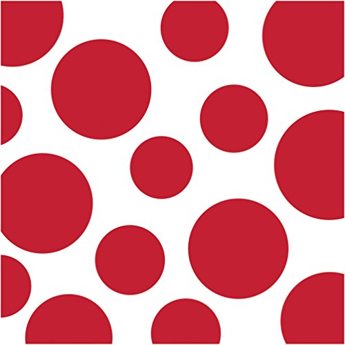 Creative Converting Celebrations 16 Count Chevron and Polka Dots Beverage Napkins, Classic Red (Dot Beverage Napkins compare prices)