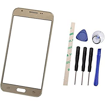 "70%OFF Eaglestar Front Panel Outer Screen Glass Lens Repair Parts For Samsung Galaxy J7 Prime & On7 2016"" G6100+Pre-cut OCA Tape/Only Glass"