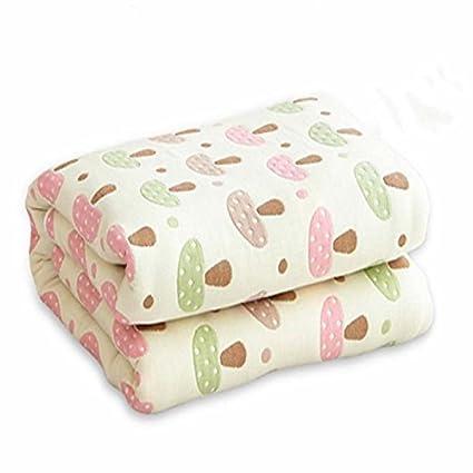 Doble espesor Delgada de algodón puro de mantas, edredones toallas son twin doble manta de