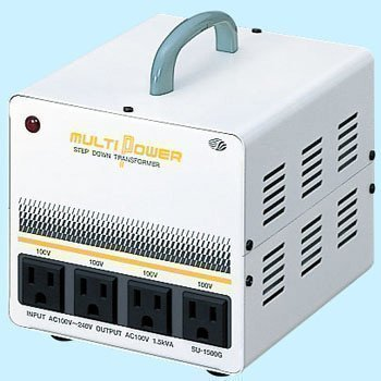 SWALLOW Electric multi transformer (1.5KVA) SU-1500G