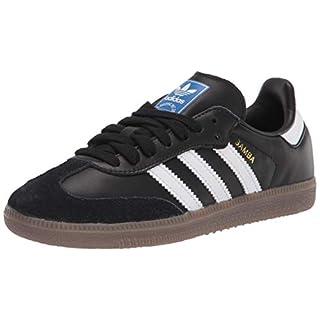 adidas Originals Men's Samba OG Sneaker Black/White/Gum 8