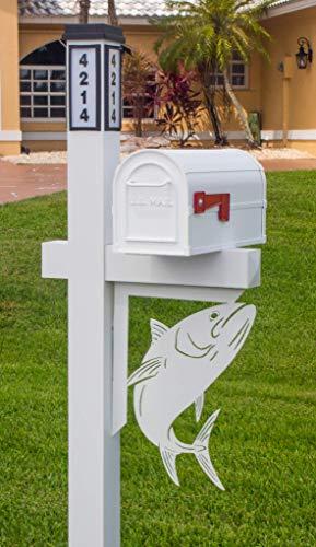 BrightLight Custom Aluminum Tarpon Mailbox ()