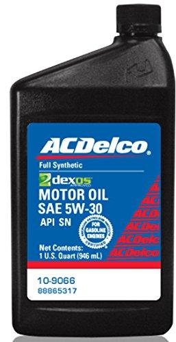 acdelco dexos1 synthetic blend