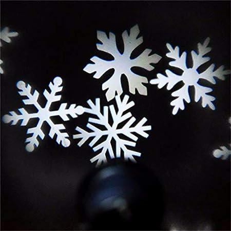 VIDOO Impermeable Proyector de Copo de Nieve de Navidad Muy ...