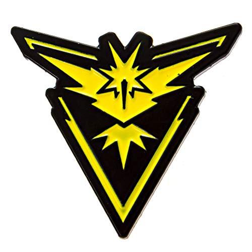 INSTINCT PokemonGo Team Pin Mystic Instinct Valor Badges Articuno Moltres Zapdos (Best Pokemon Go Gym Team)