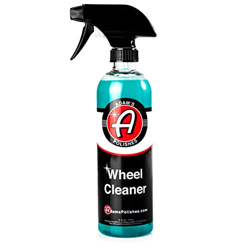 Adam's Deep Wheel Cleaner 16oz - Tough on Brake Dust, Gentle On Wheels - Changes Color As It Works (Best Alloy Wheel Cleaner)
