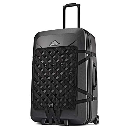 Hardside Luggage Suitcase with Spinner Wheels - Large 30 inch, Expandable, Black Away Luggage, by High Sierra (Trunkies Suitcases Best Price)