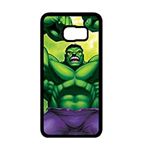 Customized Marvel Avengers Superhero The Incredible Hulk Phone Case Cover For Samsung Galaxy S6 Edge_Plus Black Hard Case W2T60