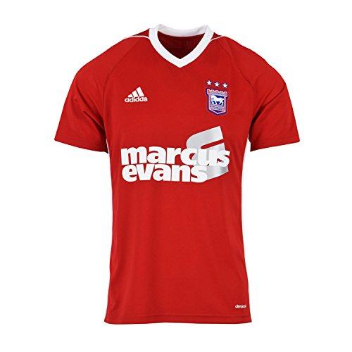 (adidas 2017-2018 Ipswich Town Away Football Soccer T-Shirt)
