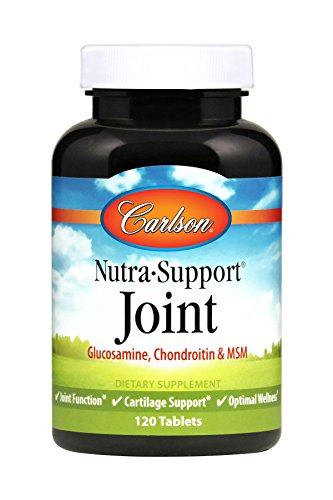 Carlson Nutra-Support Joint, Glucosamine, Chondroitin, MSM, 120 ()