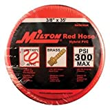 MIL-MA3835OR Red Hose Hybrid PVC 0.38 in. x 35 ft.