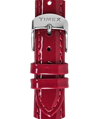 Timex Weekender Women's T7B941 - 16mm Red Patent Leather Replacement Watch Strap (Timex Watch 16mm Weekender Strap)