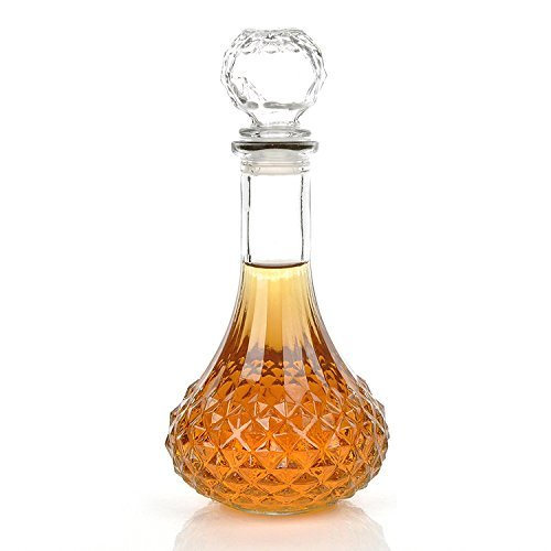 (NT_Big Clear 1000ml Whiskey Wine Liquor Decanter with)