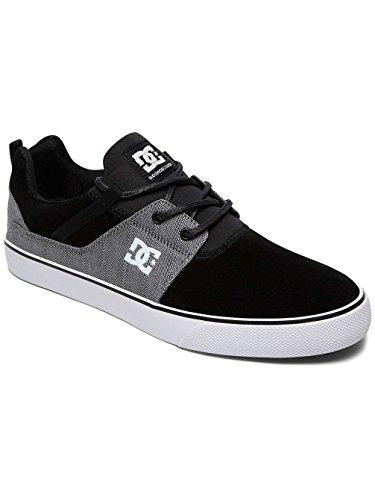 BLACK BLACK DC Sneaker Shoes GREY DK Heathrow Vulc Uomo Se BY64w