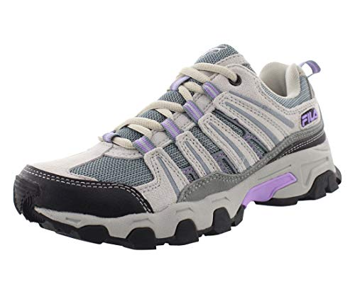 Fila Women's Day Hiker Trail Running Sneaker - Cream,Cream,6.5