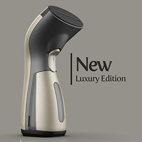 iSteam Luxury Edition Steamer Technology [New] 8-in-1 Powerful: Clothes Wrinkle Remover- Clean- Sterilize- Sanitize- Refresh- Treat- Defrost. for Garment/Home/Kitchen/Bathroom/Face/Travel [MS208 Gold] (Best Multi Cooker 2019)