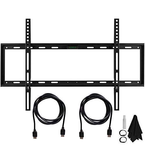 Deco Mount Slim Flat Wall Mount Ultimate Bundle Kit for 32-6