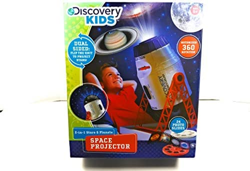 Discovery Kids 2-in-1 Stars & Planet Space Projector by Discovery ...