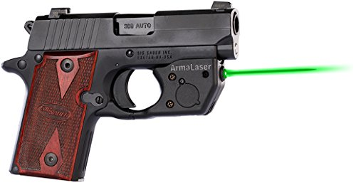 ArmaLaser SIG P238 P938 TR8G Super-Bright Green Laser Sight with Grip Activation