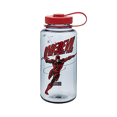 Nalgene Tritan 32oz Marvel Water Bottle (Daredevil in Action)
