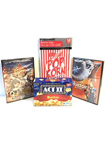 Family Movie Pack Gift Set-The Book of Life and Dr Seuss Horton Hears a who!
